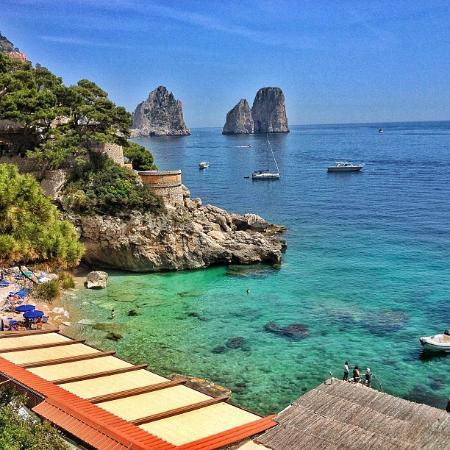 Beach - Capri