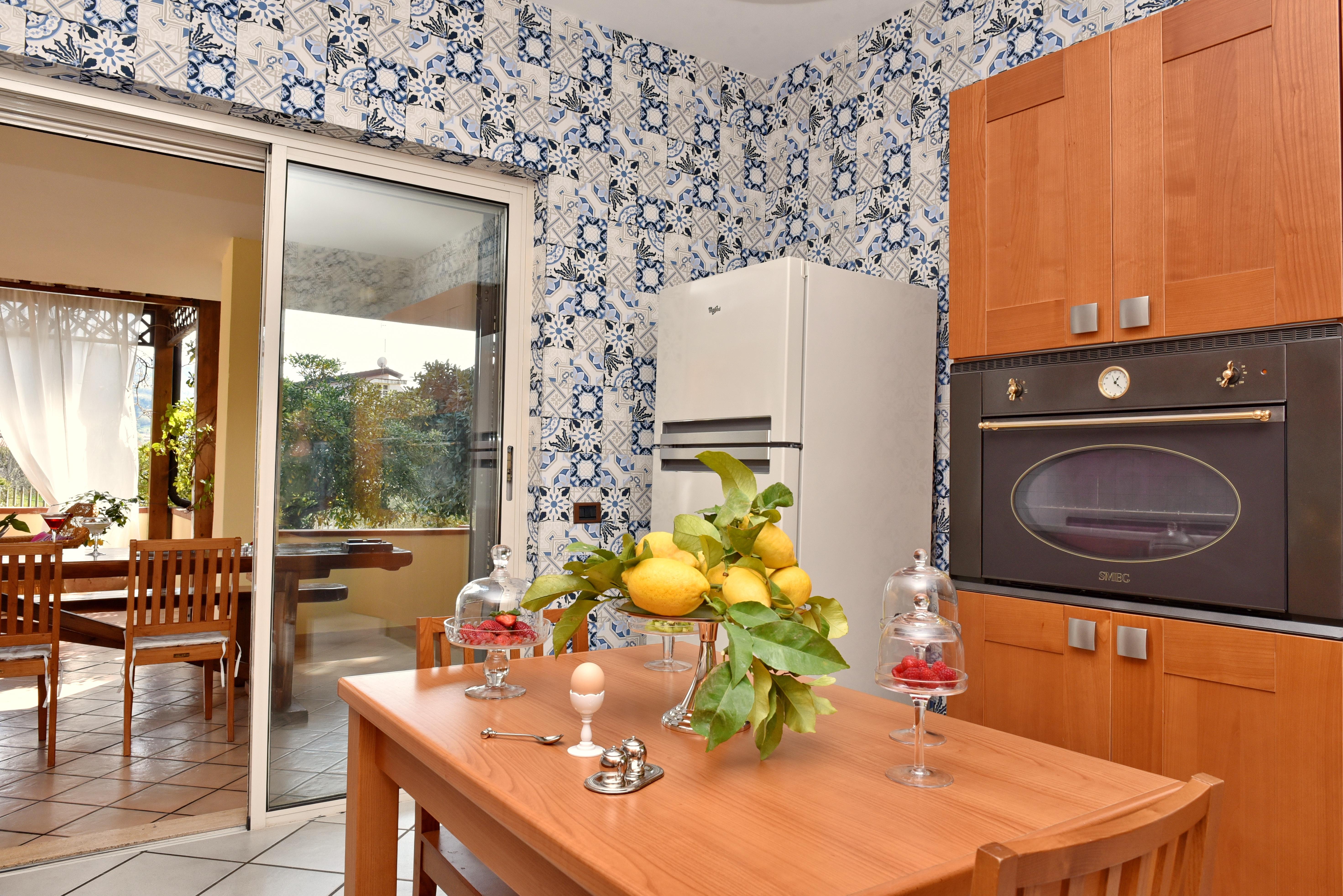 Cucina Villa Belmonte 3